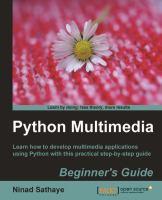 Python Multimedia Beginner's Guide