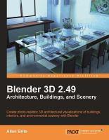 Blender 3D 2.49