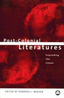 Post-colonial Literatures