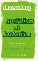 Socialism or Barbarism