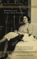 Memoirs of An Early Arab Feminist