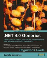 NET 4.0 Generics