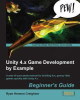 Unity 4.x Game Development by Example