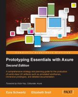 Axure RP7 Prototyping Essentials
