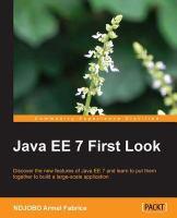 Java EE 7 First Look