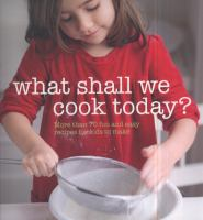 What Shall We Cook Today?