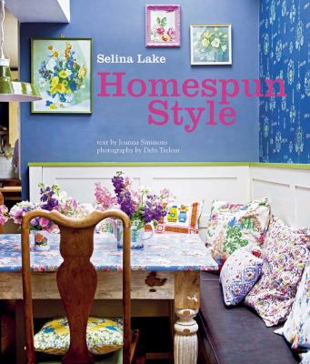 Homespun style book cover