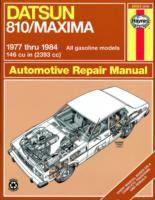 Datsun Automotive Repair Manual, 1977 Thru 1984