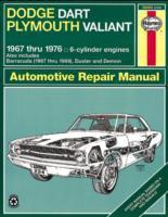 Dodge Dart & Plymouth Valiant Automotive Repair Manual