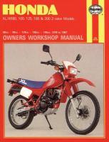 Honda XL/XR 80-200 Owners Workshop Manual