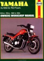 Yamaha XJ650 & 750 Owners Workshop Manual