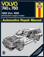 Volvo 740 & 760, 1982 Thru 1988