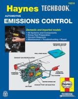 The Haynes Emissions Control Manual