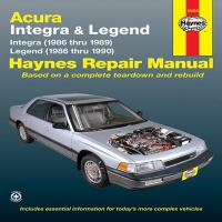 Acura Automotive Repair Manual