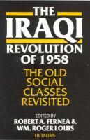 The Iraqi Revolution of 1958