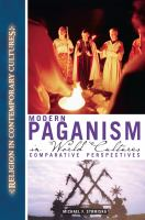 Modern Paganism in World Cultures