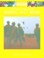 The Encyclopedia of Middle East Wars