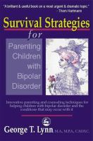 Survival Strategies for Parenting Children With Bipolar Disorder