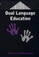 Bilingual Education and Bilingualism, 28