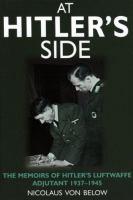 At Hitler's Side