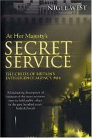 At Her Majesty's Secret Service