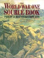The World War One Source Book