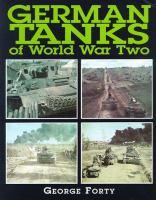 German Tanks of World War Two