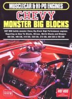 Musclecar & Hi-po Engines. Chevy Monster Big Blocks