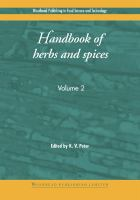 Handbook of Herbs and Spices