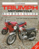 Illustrated Triumph Motorcycles Buyer's Guide