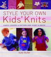 Style your Own Kids' Knits