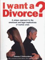 I Want A Divorce?