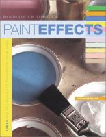 An Introduction to Practical Paint Effects