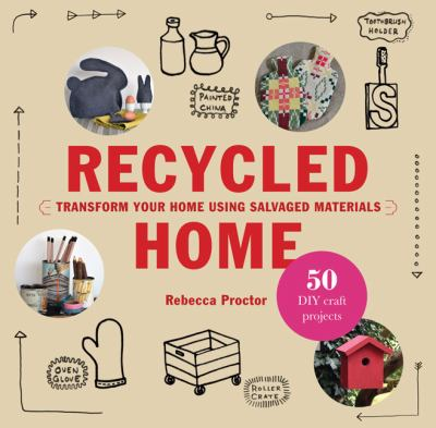 Recycled home book cover