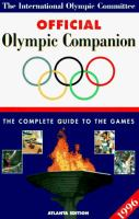 The International Olympic Committee Official Olympic Companion