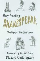 Easy Reading Shakespeare