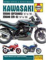 Kawasaki EX & ER500 Service and Repair Manual