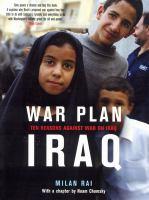 War Plan Iraq