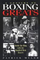 A Century of Boxing Greats