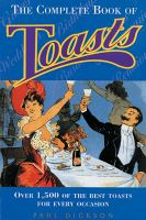 The Complete Book of Toasts