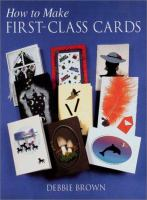 How to Make First-class Cards