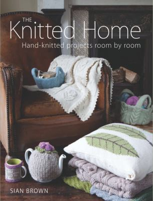 Knitted home book cover