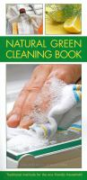Natural Green Cleaning Book