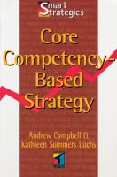 Core Competency-based Strategy