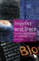 Imprint and Trace