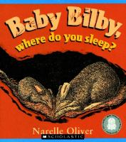 Baby Bilby, Where Do You Sleep?