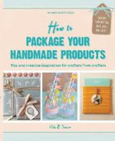How to Package your Handmade Products