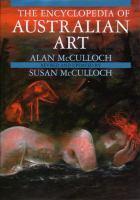 The Encyclopedia Of Australian Art