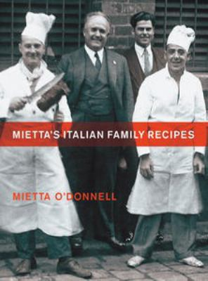 Cover image for Mietta's Italian Family Recipes