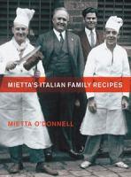 Mietta's Italian Family Recipes